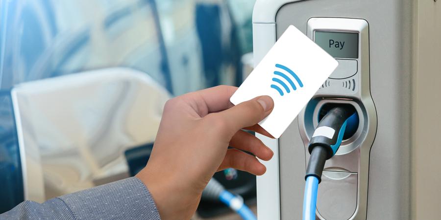 RFID Anwendung EV Mobility