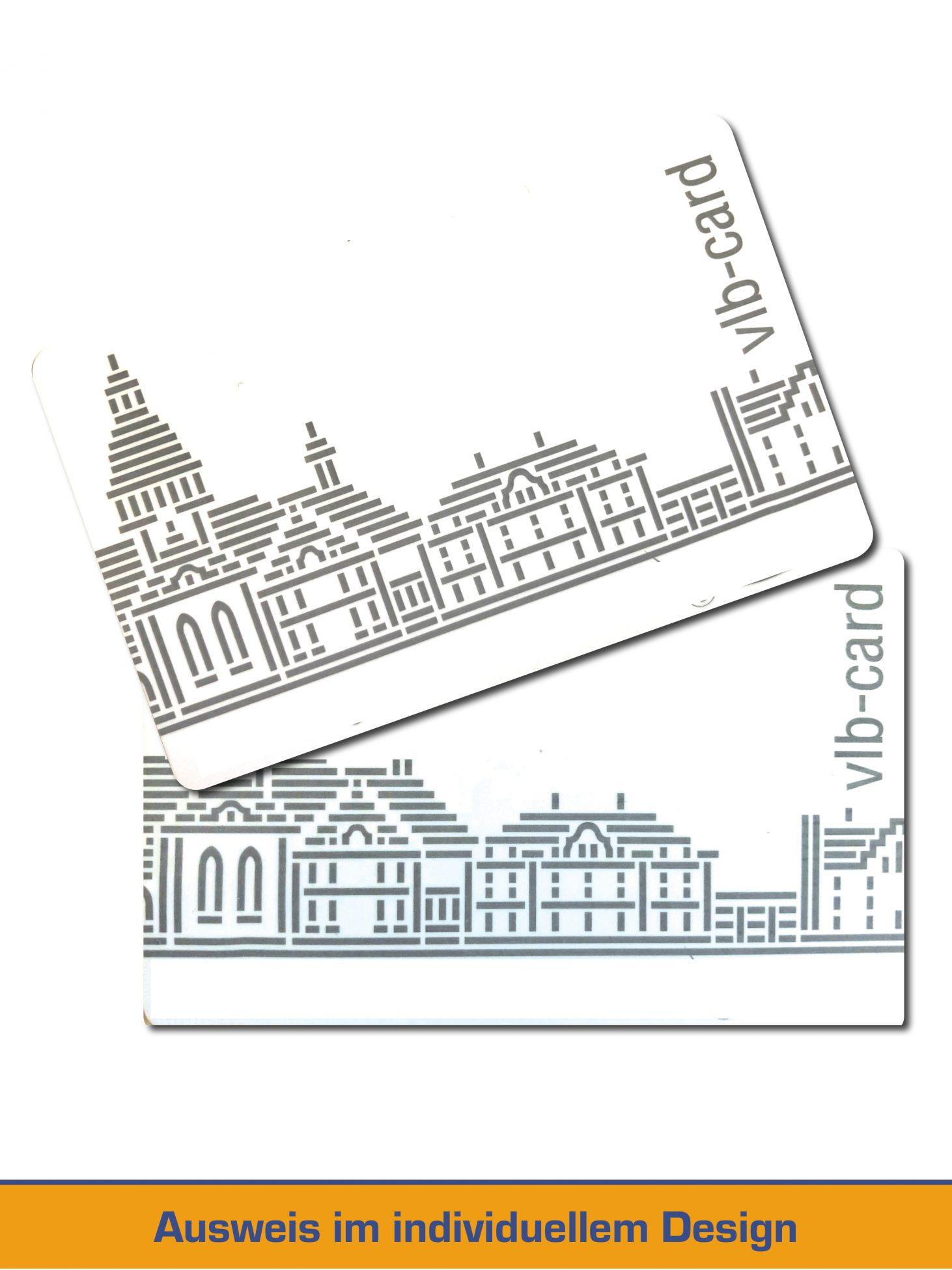 Bibliothausweis im individuellem Design / Artwork
