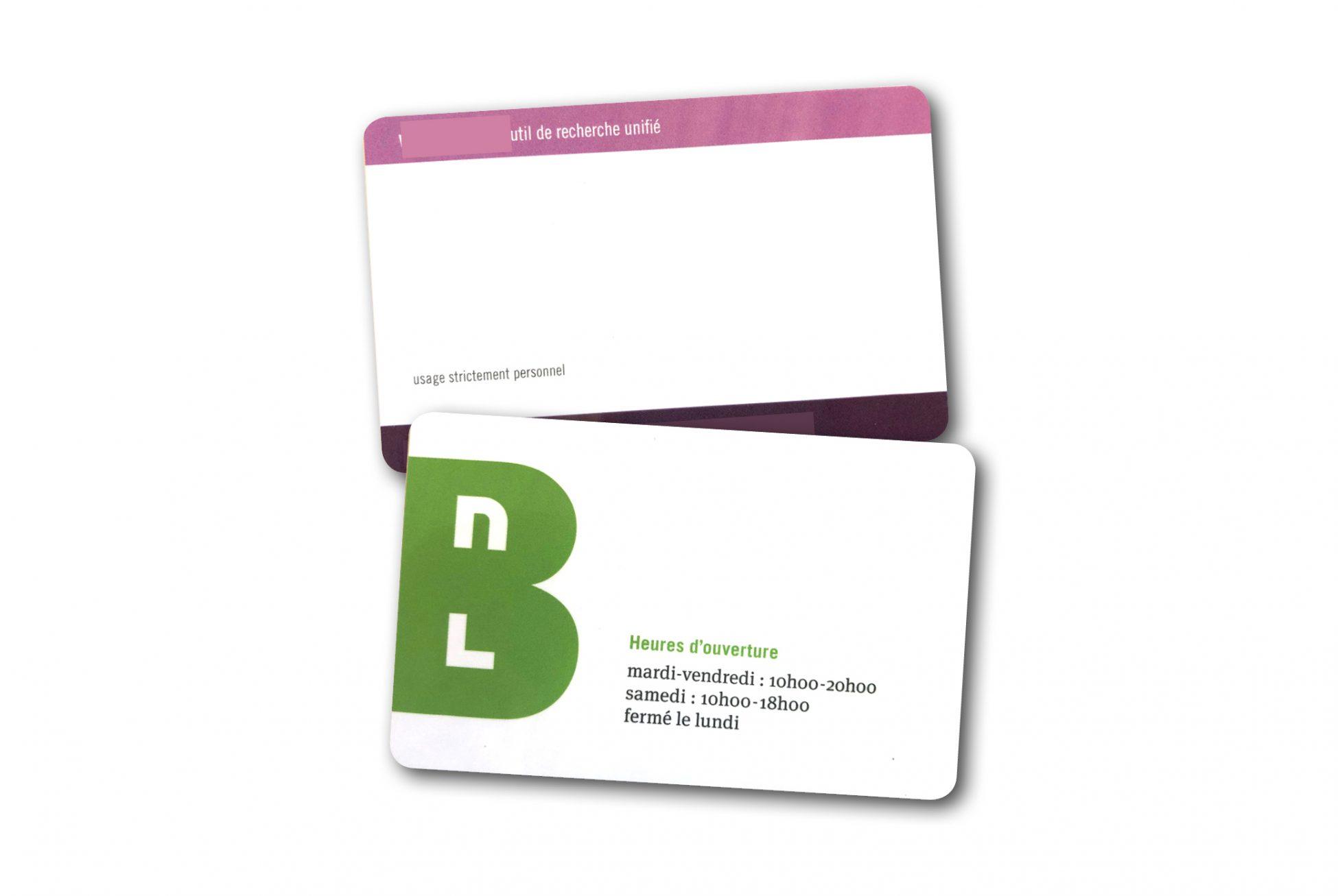RFID-Karten für Bibliotheken