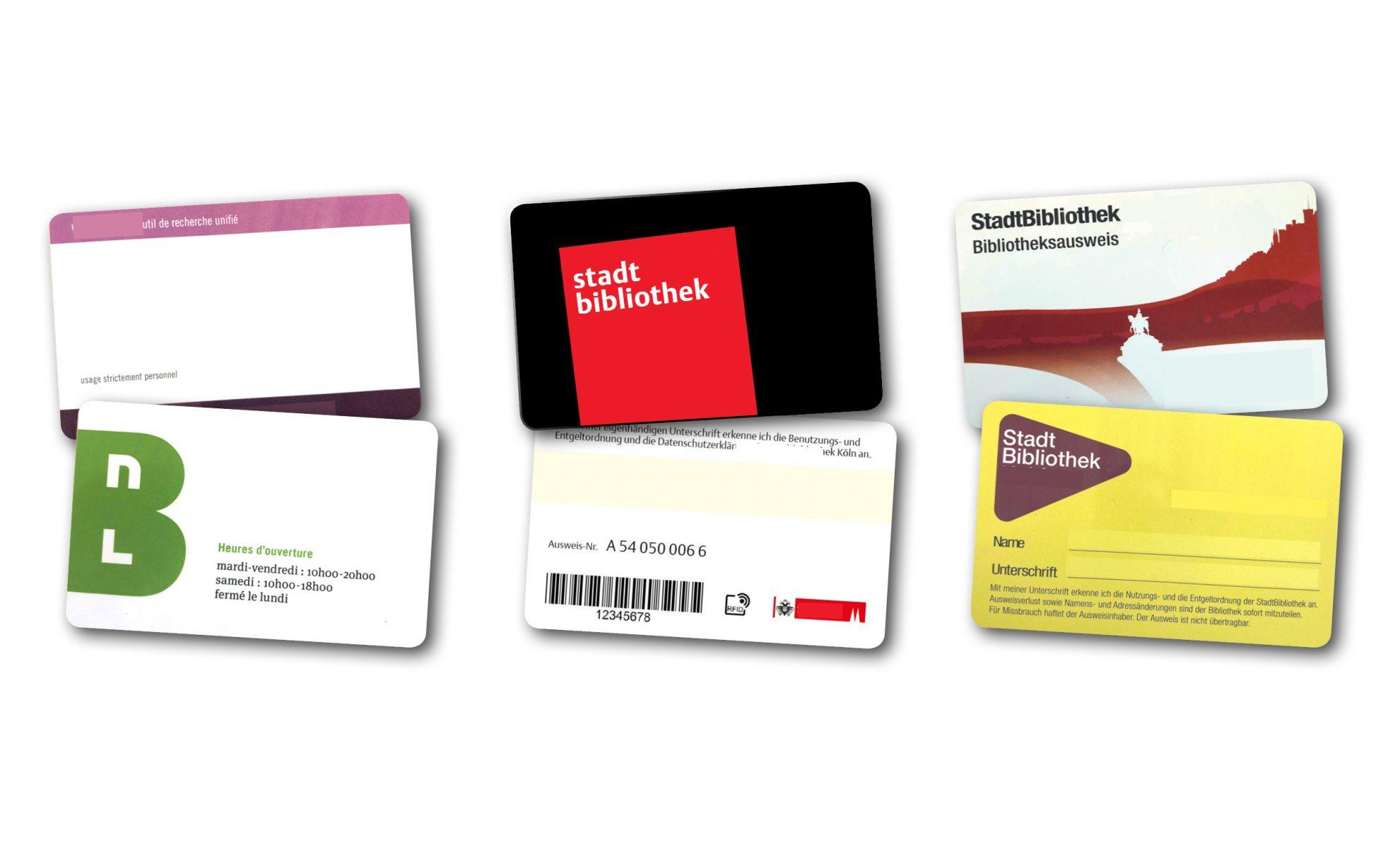 RFID Ausweise für Bibliotheken