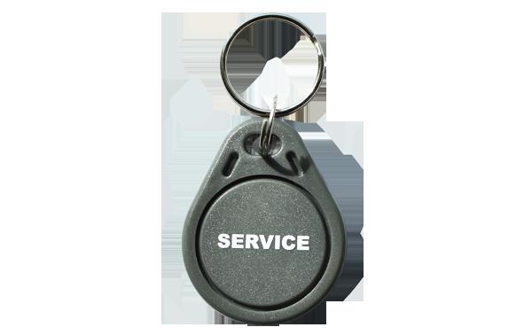 Bedruckter RFID Keyfob Schlüsselanhänger