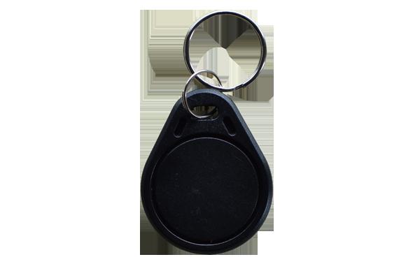Keyfob Basic in Schwarz - RFID Schlüsselanhänger