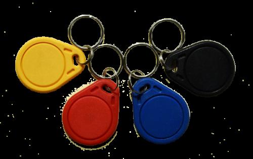 Keyfob Basic RFID Schlüsselanhänger in verschiedenen Farben