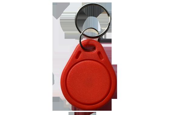 Keyfob Basic RFID Schlüsselanhänger in Rot