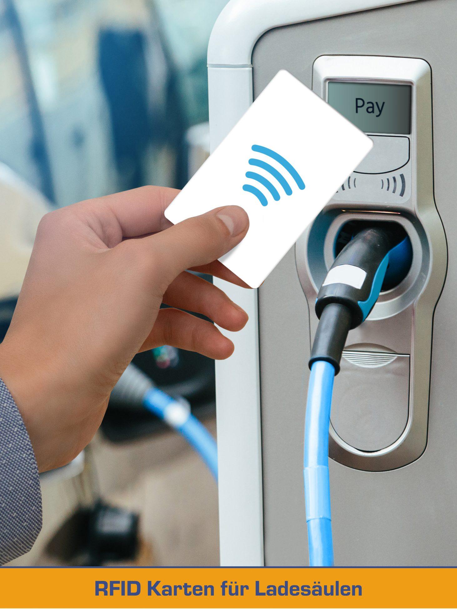 RFID Ladekarten für Lasesäulen der E-Mobilität