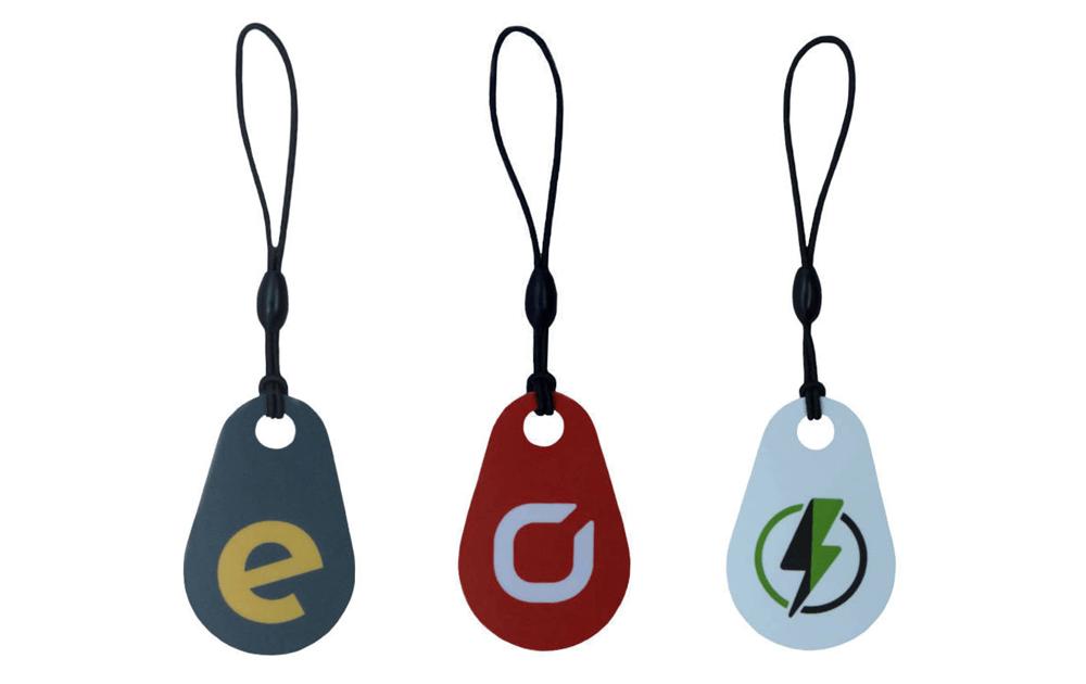 RFID Keyfob mit Keychain