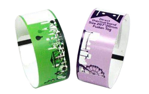 RFID Single Use Armband aus Thermopapier INK