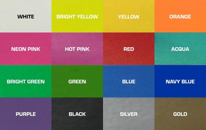 Farbskala RFID Armband EVENT