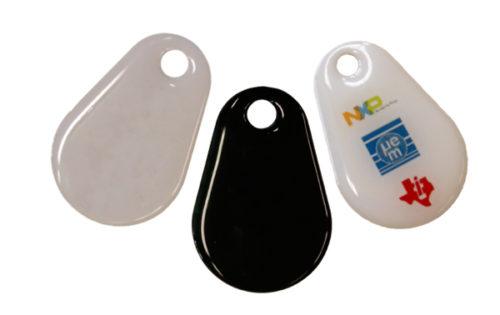 RFID Schlüsselanhänger glanzbeschichtet