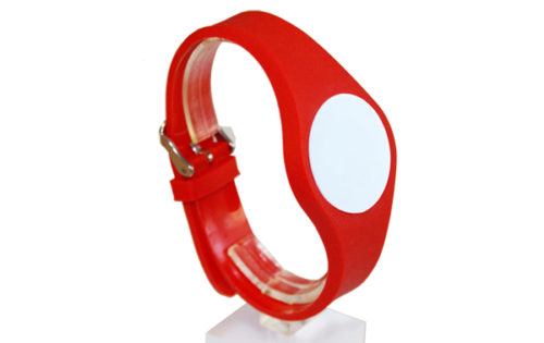 Adjustable RFID Wristband made of PVC