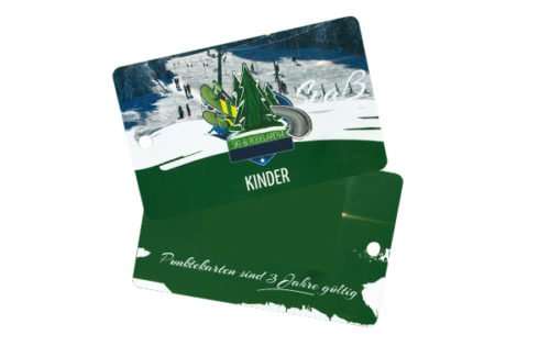 RFID lift ticket / ski pass