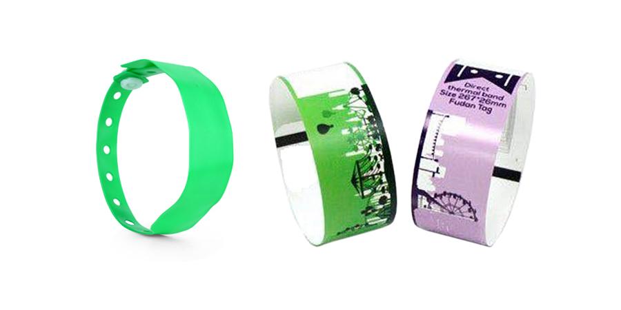 Festivalbänder und Einlassbänder für Events, Messen und Veranstaltungen