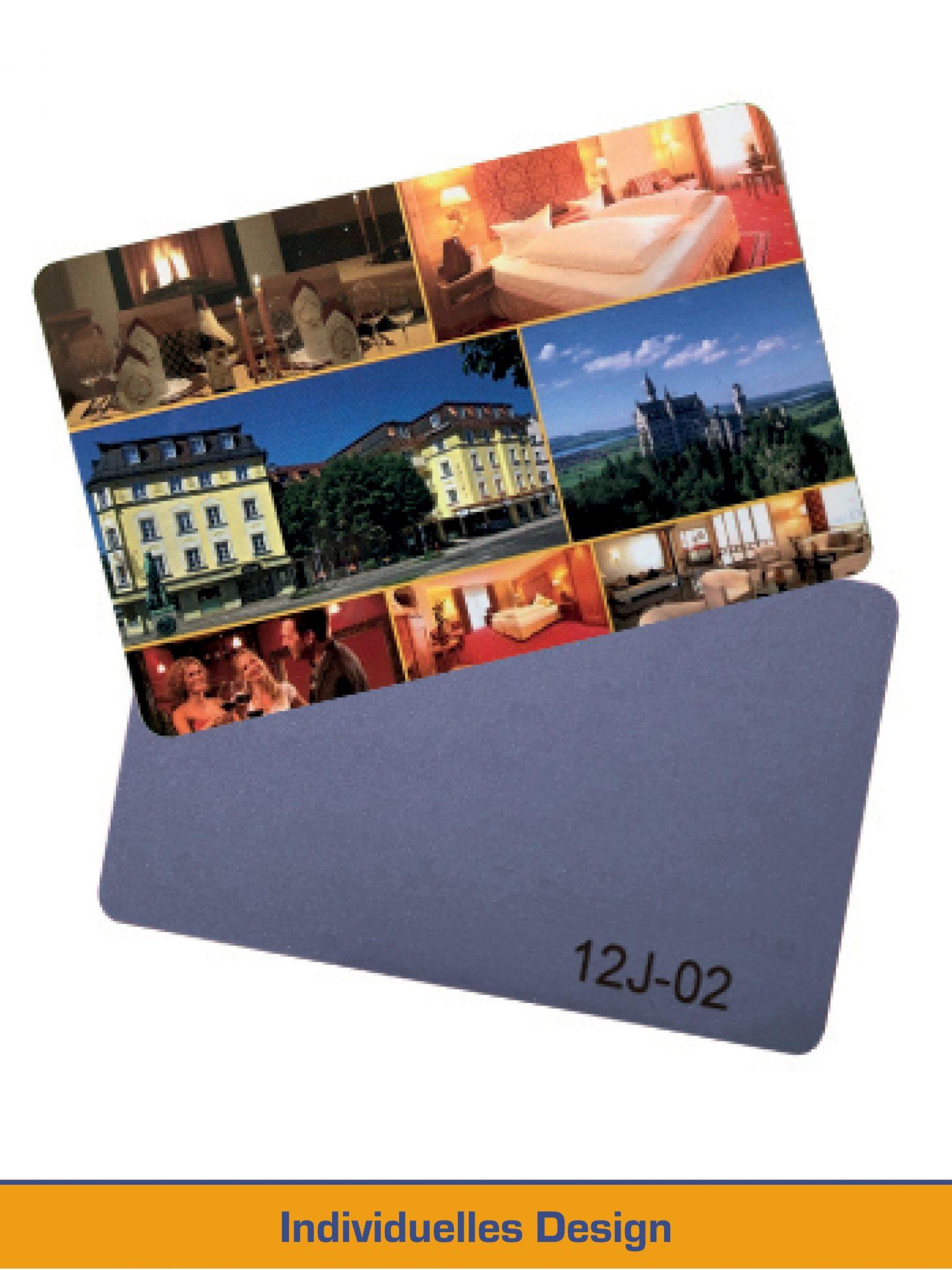 Personalisierte RFID Schlüsselkarten für Hotels